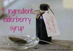 Elderberry syrup is a highly effective remedy for colds, flu and coughs (even if severe) and is delicious enough to drizzle on pancakes!