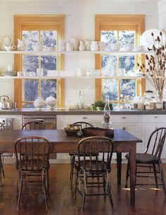 The Modern Family Kitchen | Kitchen Shelves, Shelf Life And Open Shelves