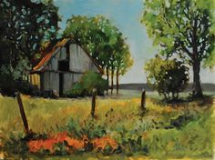 Baldwin County scenery painting by Colette Martin Waite