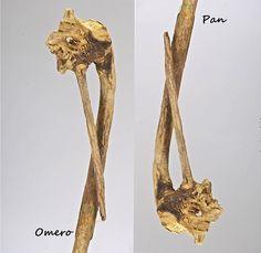 Omero-Pan. scultura driftwood, one piece naturemade. Leggi la storia.