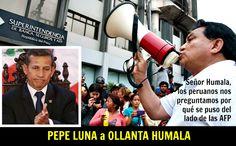 José Luna Gálvez a Ollanta Humala