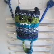 Carl the Locker Monster - via @Craftsy