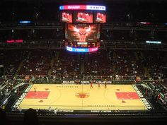 United center to watch the Chicago Bulls play