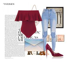 """Untitled #82"" by karma3825 ❤ liked on Polyvore featuring Gianvito Rossi, Dorothy Perkins, Rebecca Minkoff and Hatcher & Ethan"