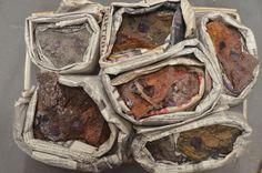 7 Pc Beautiful Cubed Purple Fluorite Crystal Specimen Flat Mapimi Durango Mexico