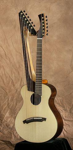 Matsuda harp guitar No2