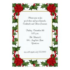 Hosting a festive feast? Get the word out with holiday invitations at Zazzle! The best holiday invitations in a huge range of designs. Christmas Photo Cards, Christmas Photos, Holiday Invitations, Holiday Fun, Festive, Good Cheer, Xmas, Xmas Pics, Xmas Pictures