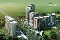 Landmark the residency sector 103 Gurgaon Haryana, India.