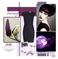 """""""Amethyst"""" by cybelfee ❤ liked on Polyvore featuring INC International Concepts, Valentino, Jimmy Choo and NARS Cosmetics"""