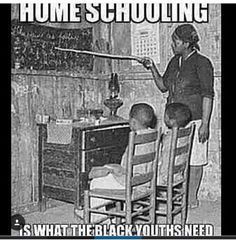 Home schooling is what the black youths need