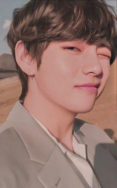 Bts Taehyung, Kim Namjoon, Bts Bangtan Boy, Bts Jungkook, Taehyung Fanart, Foto Bts, Daegu, V And Jin, V Bts Cute
