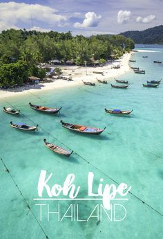 """Koh Lipe Thailand aka """"The Maldives of Thailand."""" Complete Koh Lipe guide: best beaches in Koh Lipe, things to do in Koh Lipe, where to stay in Koh Lipe, best restaurants on the island, and much more."""
