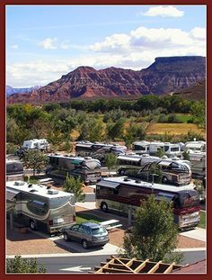 Zion River Resort RV Park And Campground Close To Natl