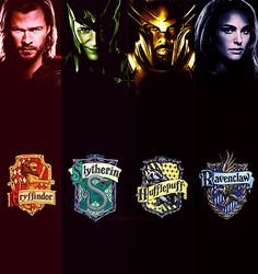 Thor Harry Potter houses