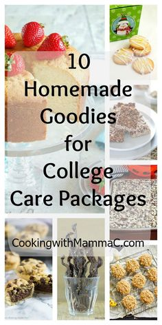 Check Out These Recipes For 10 Homemade Goodies College Care Packages Plus Im Sharing My Tips Sending A Package To Your Student