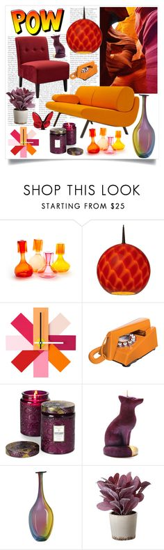 """""""POW Decor"""" by caymansunshine ❤ liked on Polyvore featuring interior, interiors, interior design, home, home decor, interior decorating, Esque Studio, Normann Copenhagen, Outliving and Voluspa"""
