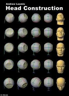 Andrew Loomis' Head Construction If you are going to do any head or figure drawing, then you will want to read up on Andrew Loomis' books. Most of the artist that I have seen today with…