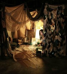 Grown-Up Hideouts: A Wild Things Fort-Building Contest!