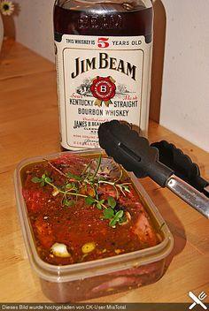 Whiskey - Honig - Senf Marinade für Schweinefleisch und Rindfleisch (Rezept mit…