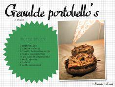 Gevulde portobello's   Kruimels & Kaneel