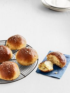 Rosemary Brioche Rolls — fragrant and flavorful, and perfect for Easter.