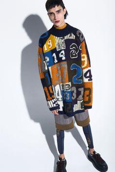 Acne Studios Fall 2015 Menswear #sweater #print
