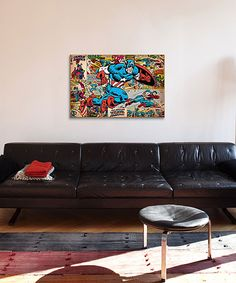 Look what I found on #zulily! Marvel Captain America Gallery-Wrapped Canvas Print by iCanvas #zulilyfinds