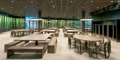 The dining hall (Mensa) for the new Vienna University of Economics and Business