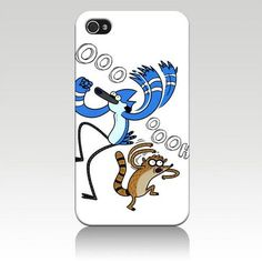 Regular Show Mordecai and Rigby iPhone Case. I have this as a iPod case