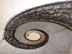 The Wonderful Geometry Of Budapest's Spiral Staircases