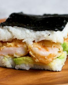 Easy Sushi Sandwiches Recipe by Tasty
