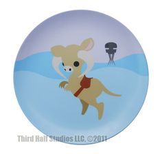 Star Wars Animals Made Adorable On Melamine Plates
