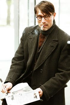 Mads Mikkelsen in the 2008 film, Flame & Citron.