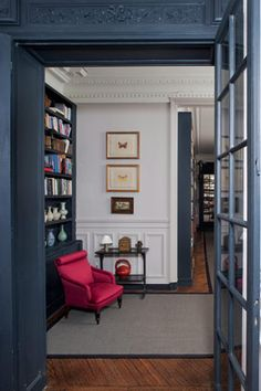 Love this color, even though it's a little muted for my usual taste. Elephant's Breath by Farrow and Ball (wall color)