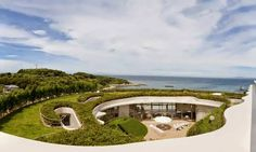This cutting edge round home designed by Ciel Rouge takes its prized spot cliffside ignoring the ocean. With workplaces in Paris and Tokyo, the cosmopolitan structural engineering firm conceived of brand new ideas when designing this astounding round house
