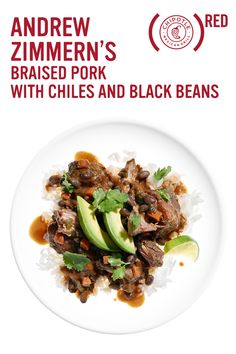 Created to support Chipotle's partnership with (RED) and the fight to end AIDS, Andrew Zimmern's Braised Pork with Chiles and Black Beans recipe was inspired by the same whole ingredients you can find in Chipotle restaurants. Click to check out the recipe and learn more.