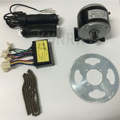 sale electric bike motor diy kit my1016 dc 24v250w brushed motor kitescooter engine kit ebike #electric #motor #bike
