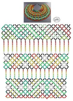 Foto Natali Khovalko Diy Necklace Patterns, Jewelry Patterns, Peyote Patterns, Beading Patterns, Fabric Origami, Bead Crochet, Beads And Wire, Beading Tutorials, Beaded Flowers