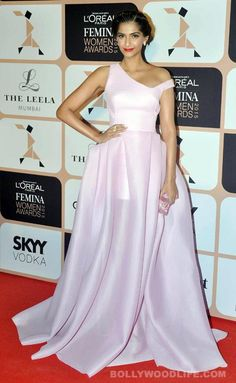 Sonam Kapoor wearing a Toni Maticevski gown  with Gehna jewels.