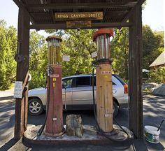Gas Station    Historic Gas Station at Kings Canyon, California