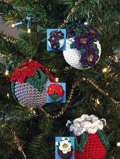 Floral Ornaments ~ free patterns