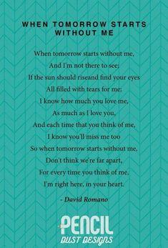 miss me poem