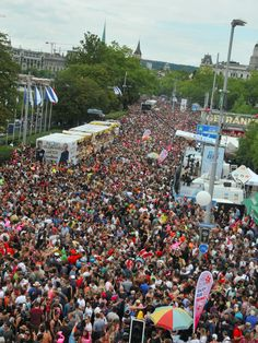 """""""Love never ends"""" was this year's motto of the world's biggest techno parade with 900.000 visitors in Zurich. We supported the security management of the event with 350 mobile radios, 50 Max headsets, our EventCockpit, and CCTV-cameras. #RIEDEL"""