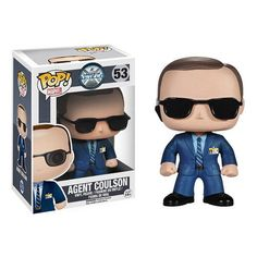 Agent Coulson Agents Of SHIELD Pop Heroes Bobble Head Vinyl Figure $13.99 with free U.S. shipping