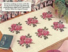 Victorian Rug Pattern for Plastic Canvas ePattern - Leisure Arts