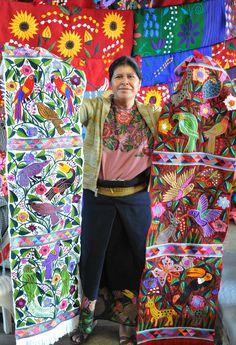Chiapas, Mexico Embroidery