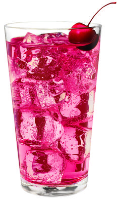 Cherry Bomb -----------   1 ½ oz. Three-O Cherry Vodka 	Ginger ale	  Splash of grenadine
