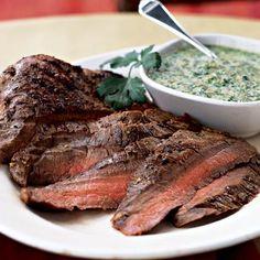 Flank Steak in Marzano Sauce