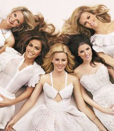 Elizabeth Banks, Anna Kendrick, Brooklyn Decker, Cameron Diaz, and Jennifer Lopez ( What To Expect When You're Expecting) - Redbook