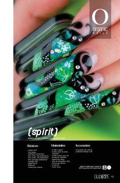 Manolo Rosas/ ProMaster Organic® Nails Green Nails, Pink Nails, Gel Designs, Nail Art Designs, Purple Tips, Organic Nails, Edge Nails, Gold Glitter Nails, Super Nails